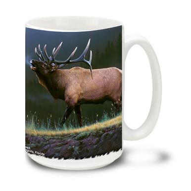 Beautiful Elk in a mountain wilderness.