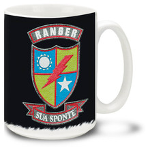 United States Army Rangers Earned Not Issued - 15oz. Mug