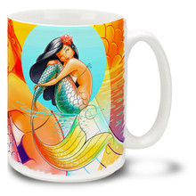 Happy Princess Mermaid - 15oz. Mug