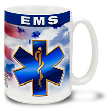 EMS Emergency Medical Services - 15oz. Mug