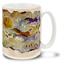 Horses and Zia II  Coffee Mug - 15oz. Mug