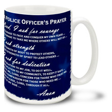 A Police Officer's Prayer - 15oz. Mug