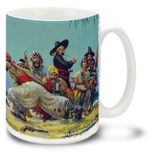 Moonlight Sword Duel Pirates - 15oz. Mug