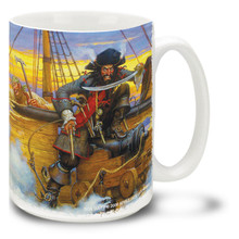 Blackbeard the Pirate - 15oz. Mug