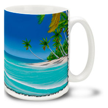 Signs of Paradise Beautiful Florida Beach - 15oz. Mug