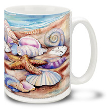 Seashells Beautiful Shells - 15oz. Mug