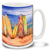 Summer Colors Surfboards Surfing - 15oz. Mug