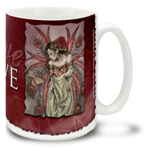 Romantic Love Renaissance Angel - 15oz Mug