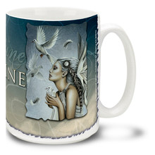 Imagine Beautiful Release Angel - 15oz Mug
