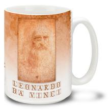 Leonardo da Vinci Portrait - 15oz. Mug