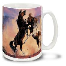 Range Wars Horses - 15oz Mug