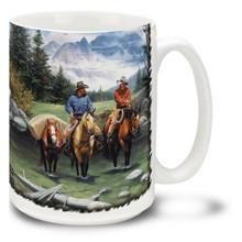 Clear Water Crossing Cowboys - 15oz Mug