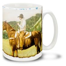 Open Range Cowboy - 15oz Mug