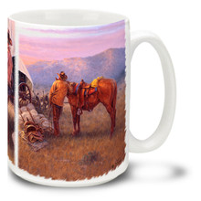 Chuckwagon Serenade Cowboys - 15oz Mug