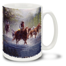 Rocky Creek Colts Horses and Cowboys - 15oz Mug