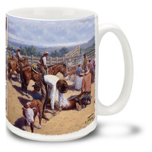 Cowboys Branding for the Boss Lady - 15oz Mug