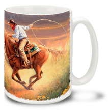 Hot Pursuit Cowboy - 15oz Mug