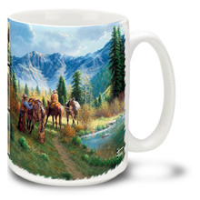 Saddle Inspection Cowboys - 15oz Mug