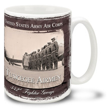Tuskegee Airmen 332nd In Formation - 15oz Mug