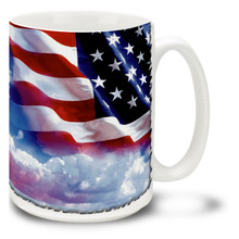 United States Flag  - 15oz Mug