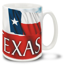 Texas Flag - 15oz Mug