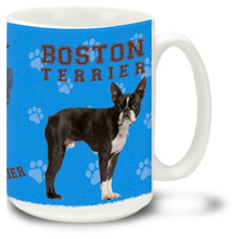 Boston Terrier - 15oz Dog Mug