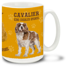 Cavalier King Charles Spaniel - 15oz Dog Mug