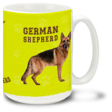 German Shepherd - 15oz Dog Mug