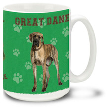 Great Dane - 15oz Dog Mug