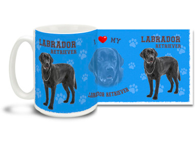 Love your Labrador Retriever? You'll love this Labrador Retriever Coffee mug! Labrador Retriever mug is dishwasher and microwave safe.