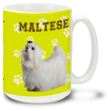 Maltese - 15oz Dog Mug