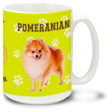 Pomeranian - 15oz Dog Mug