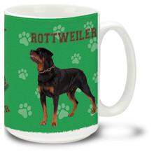 Rottweiler - 15oz Dog Mug