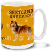 Shetland Sheepdog - 15oz Dog Mug