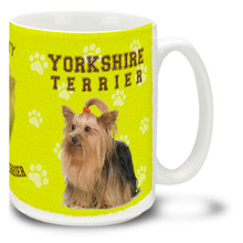 Yorkshire Terrier - 15oz Dog Mug