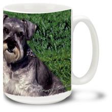 Artsy Schnauzer - 15oz Dog Mug