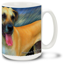 Artsy Great Dane - 15oz Dog Mug