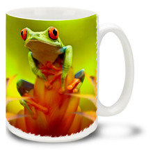 Red-Eyed Tree Frog - 15oz. Mug