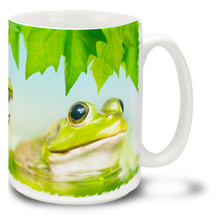 Green Pond Frog - 15oz. Mug
