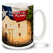 Heroes of the Texas Alamo - 15oz Mug