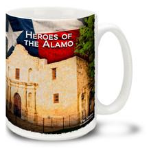 Heroes of the Texas Alamo - 15oz Mug