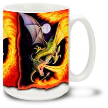 Dragon of Fire - 15oz Mug