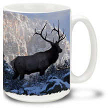 Top of the World Bull Elk - 15oz. Mug