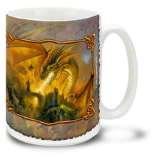 Fire Storm Dragon - 15oz Mug