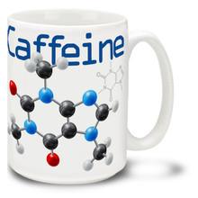 Caffeine Molecule - 15oz Mug