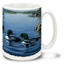 Loon Pair  - 15oz Mug