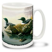 Nesting Loons - 15oz Mug