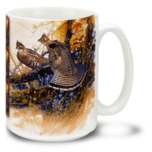 Autumn Colors Grouse - 15oz Mug