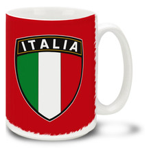 Italia Shield - 15oz Mug
