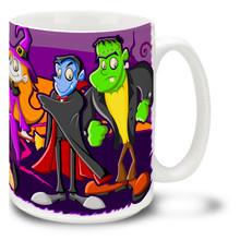 Halloween Pleasant Screams - 15oz Mug